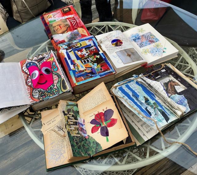Rose Maires Prins' All Day-Long Altered Book Workshop