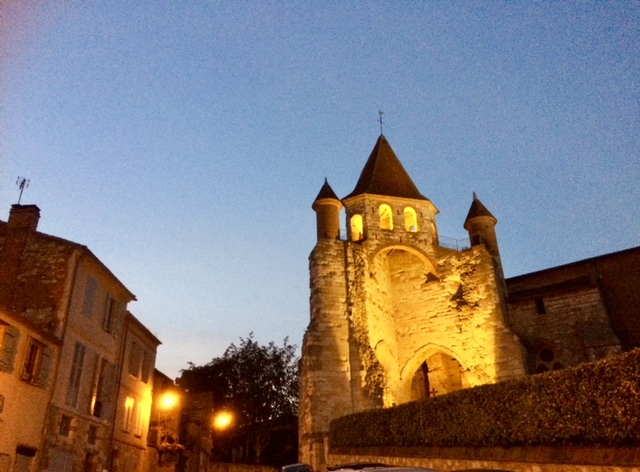 Night in Auvillar