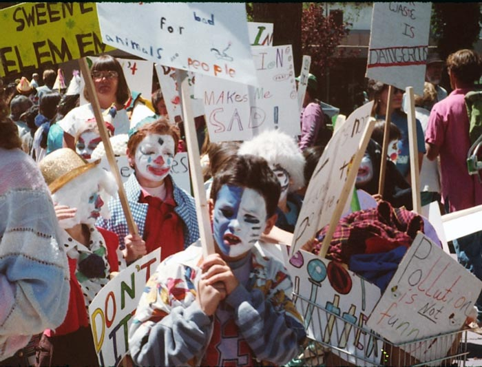 Earth Day, Santa Fe, '89