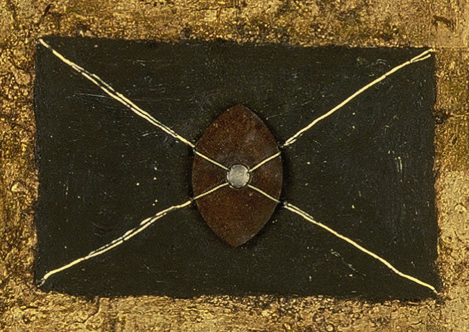 RM's Bound Crosses piece(detail)