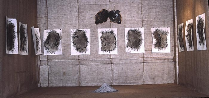 """Sackcloth and Ashes,"" installation"