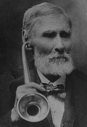 old time ear trumpets