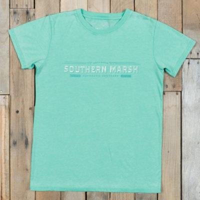 Southern Marsh SEAWASH Crewneck Rustic, Mint