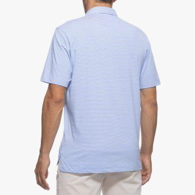 Johnnie-O Harper Polo, Laguna Blue