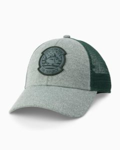 Southern Tide Patriot Patch Heather Trucker Hat, Vine Green