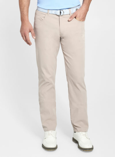 Peter Millar Performance 5 Pocket Pant, Khaki