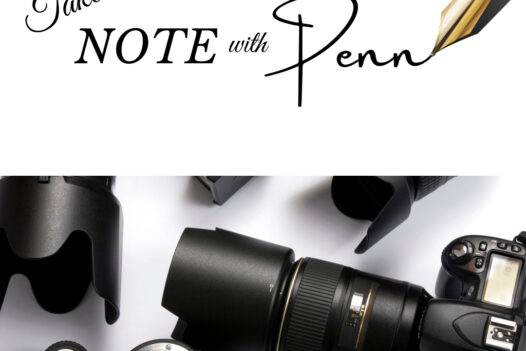 take note with Penn Bahamian Photography podcast