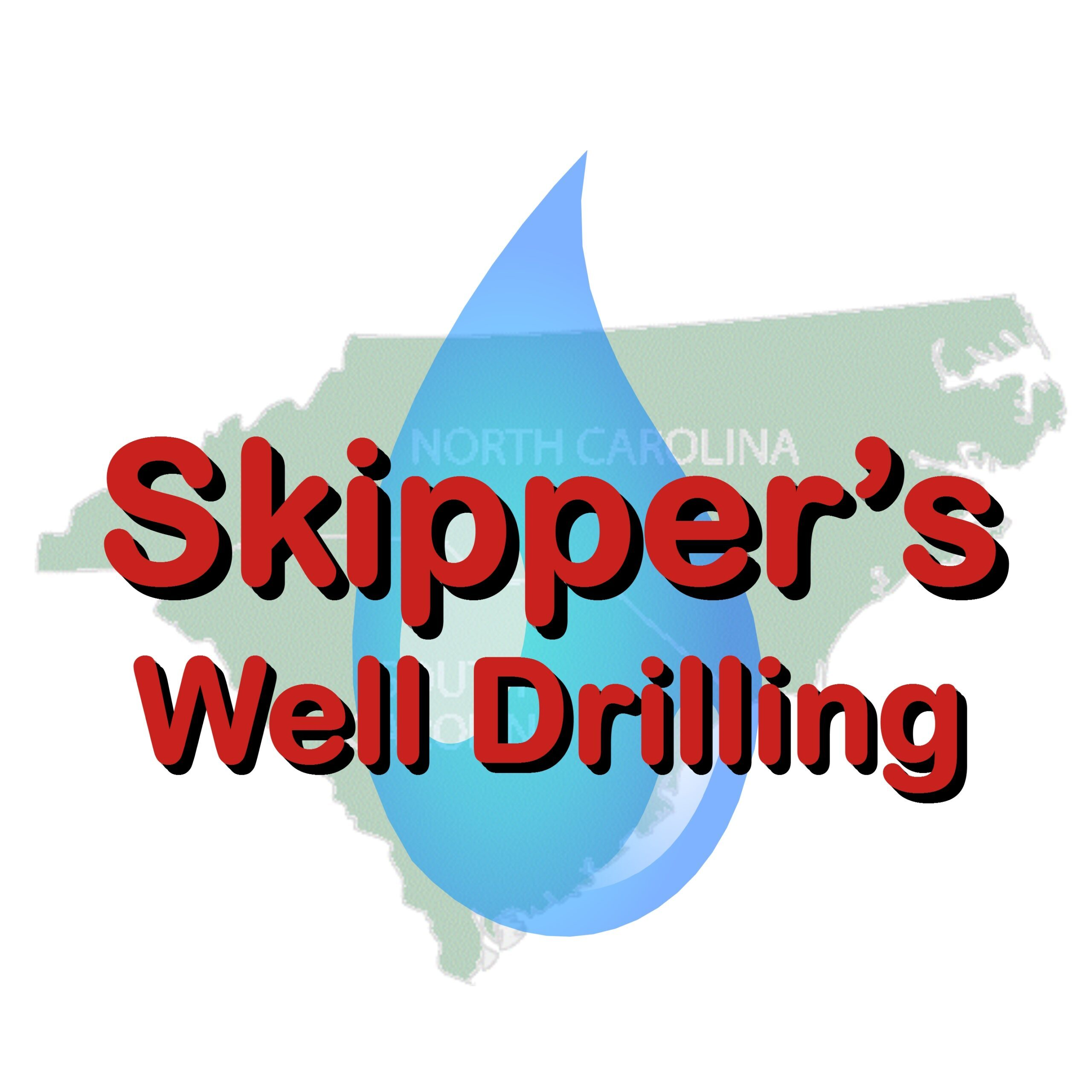 Skippers Well Drilling - Waterdrop Logo