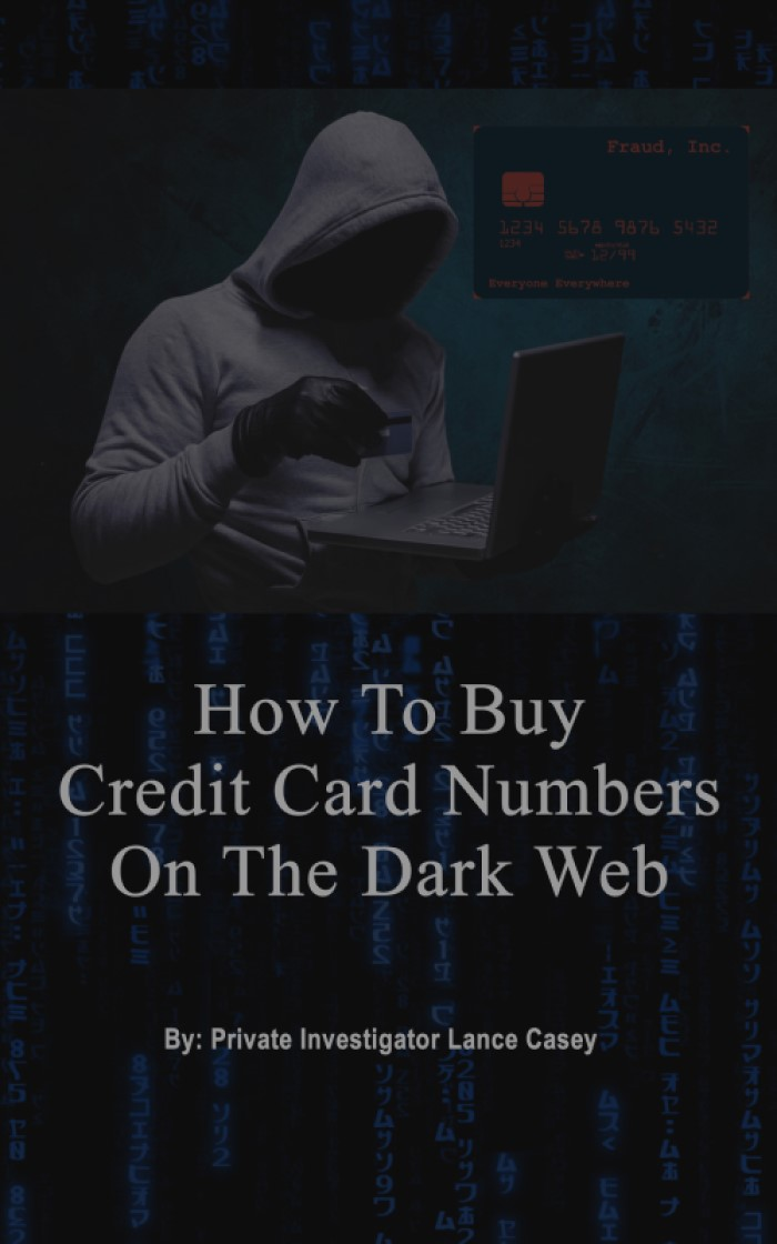 HOW TO BUY CREDIT CARD NUMBERS ON THE DARK WEB?