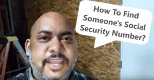 How To Find Someone's Social Security Number youtube 10 18 2019