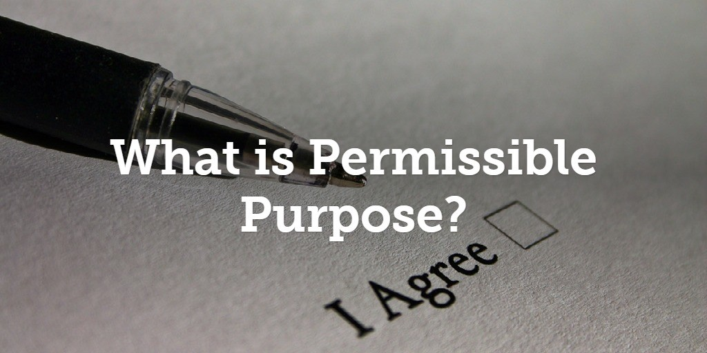 How Do I Prove My FCRA Permissible Purpose To Get Someone's Social Security Number Online?