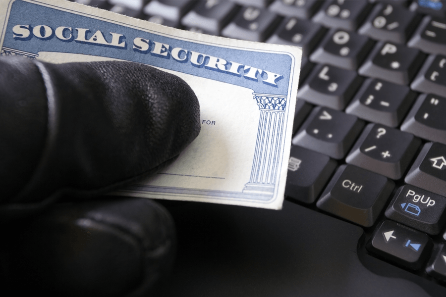 What Measures Does Social Security use to Ensure My Information in the Online Replacement Card Application is Secure