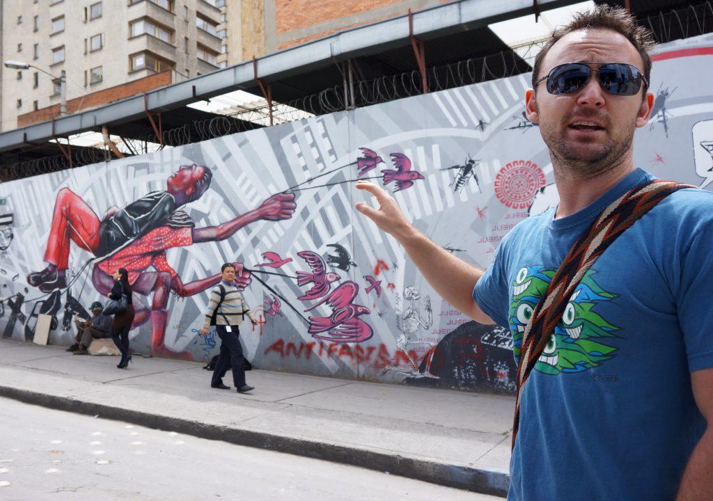 Bogota, Colombia street art