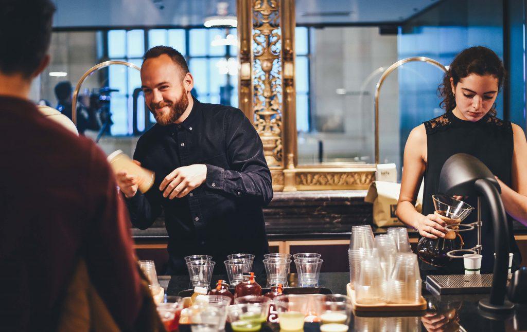 Montreal cafes, Crew Collective & Café