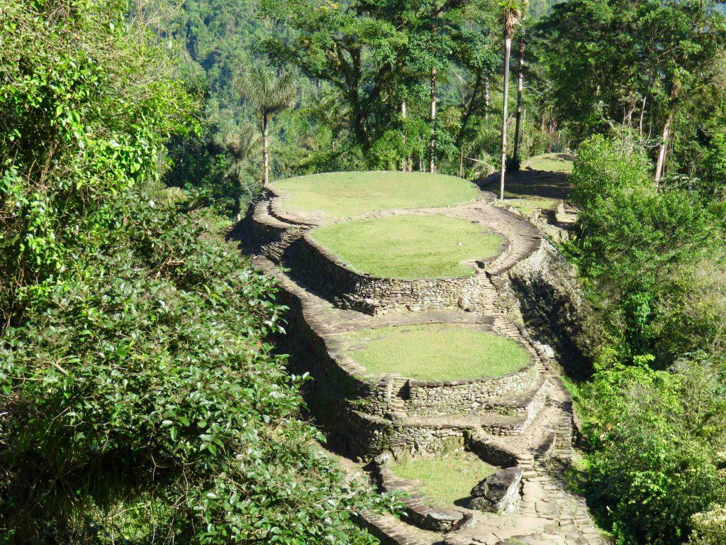 Lost City trek in Colombia