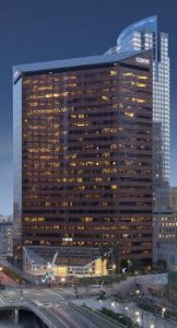 In May, CBRE sold its headquarters downtown in one of the largest deals in the second quarter. (Courtesy of CBRE)