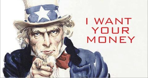 Uncle Sam I want your Money Protect Assets Today Downey CA 90242