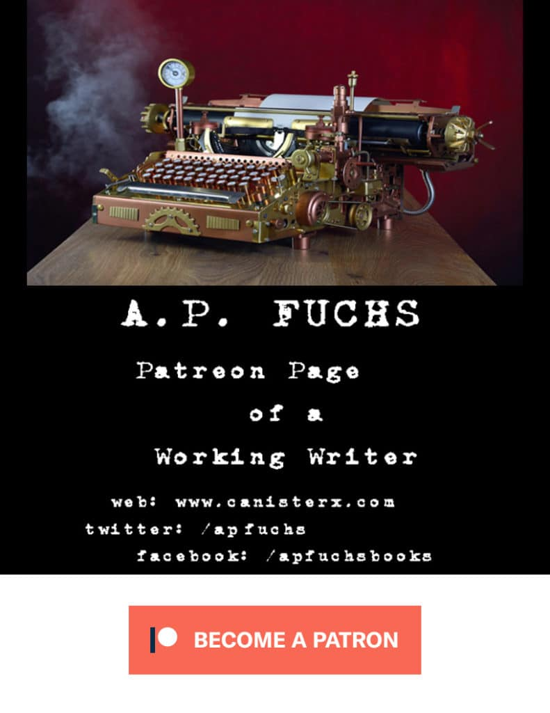 A.P. Fuchs on Patreon