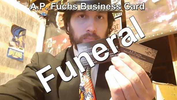 A.P. Fuchs Business Card Funeral thumbnail