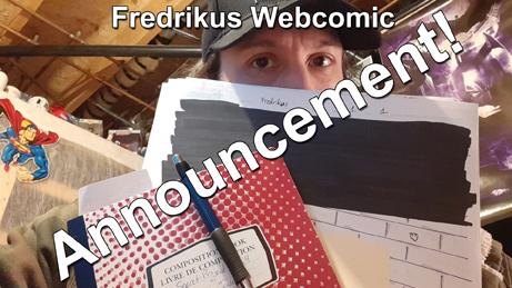 Fredrikus webcomic announcement thumbnail