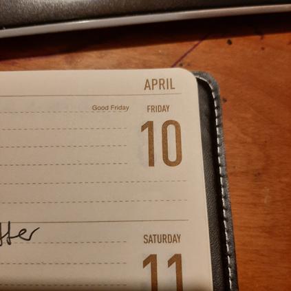 April 10 2020 calendar