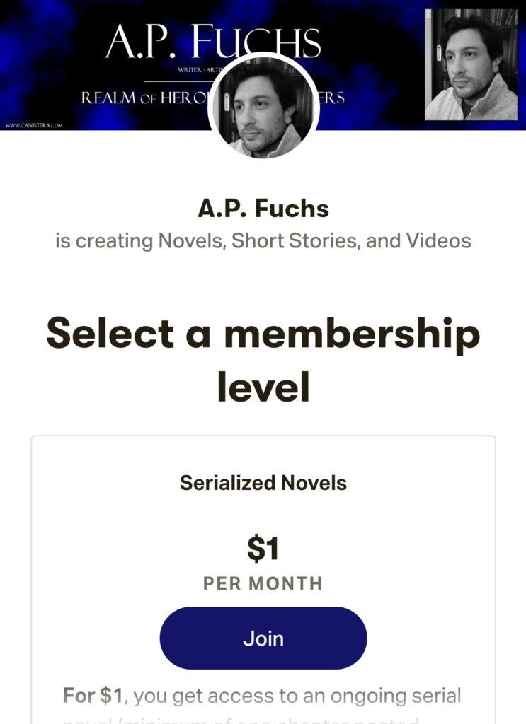 A.P. Fuchs Patreon