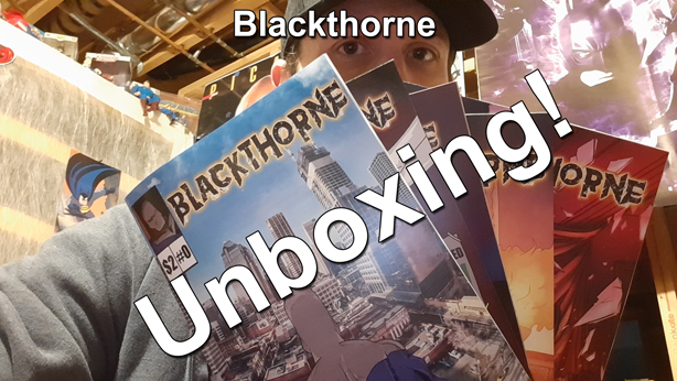 Colin Work Blackthorne comic book unboxing thumbnail