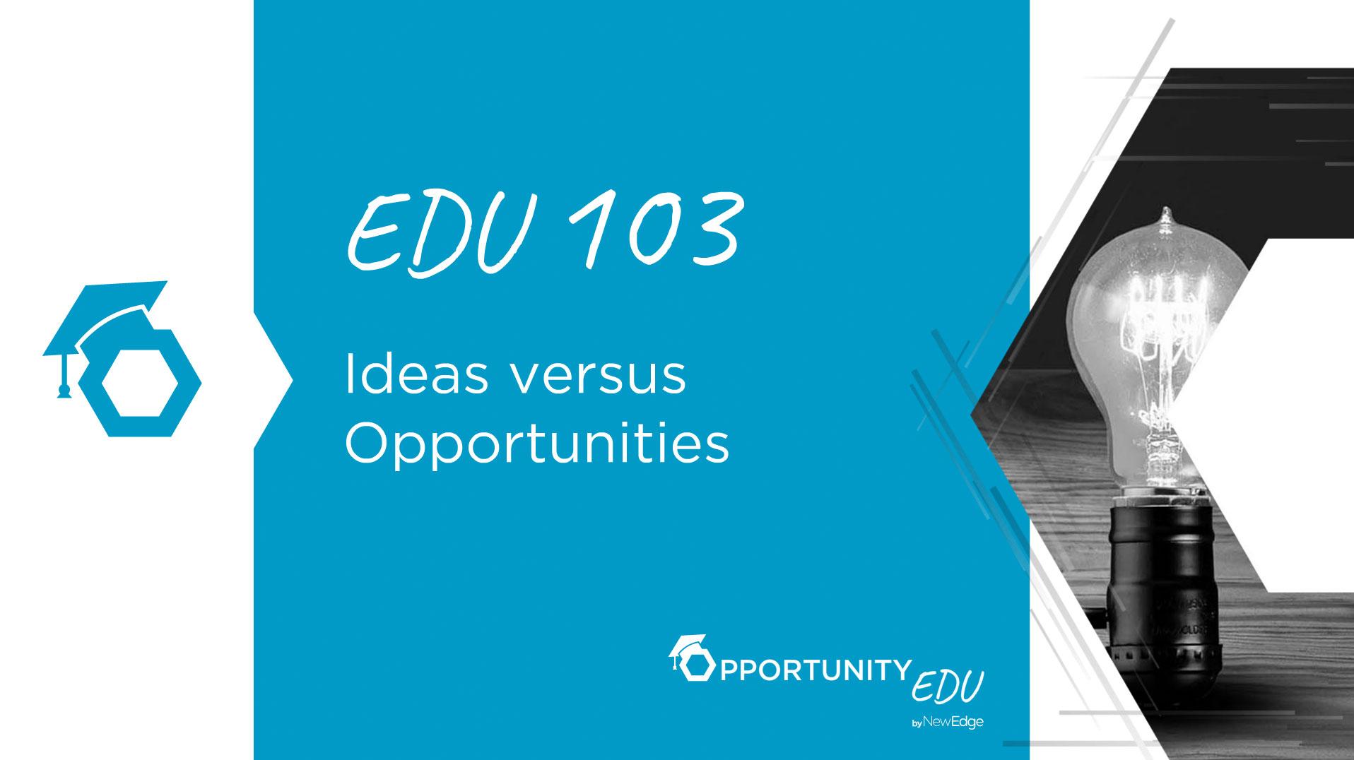 EDU 103