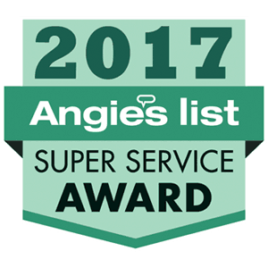 Angies List Super Service Award 2017