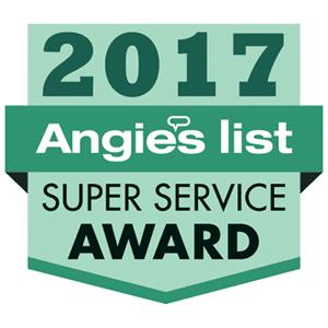 Angies List Super Service Award 2017