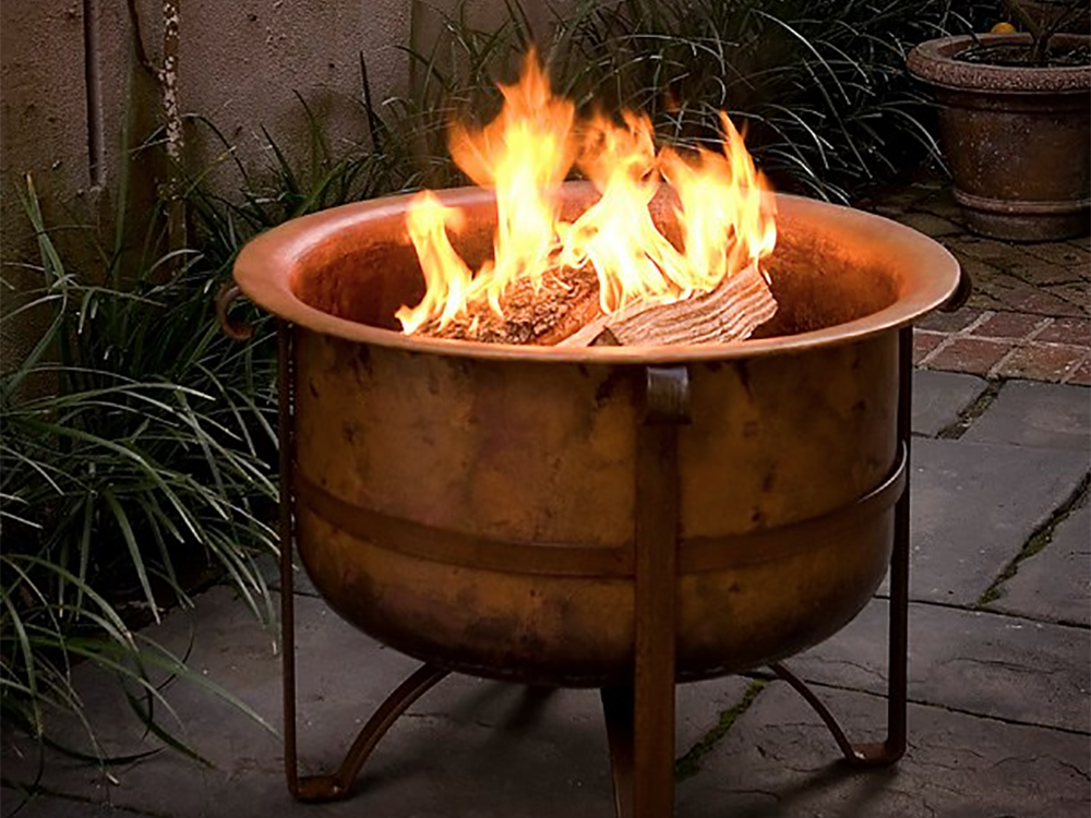 GAS FIRE TABLES & WOOD FIRE PITS