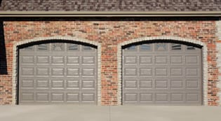 San Antonio Raised Panel Garage Door