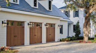 Leon Springs Wood Garage Door San Antonio Boerne