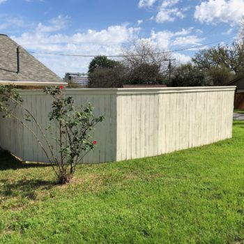 Custom Fence Building San Antonio Helotes Boerne Dominion
