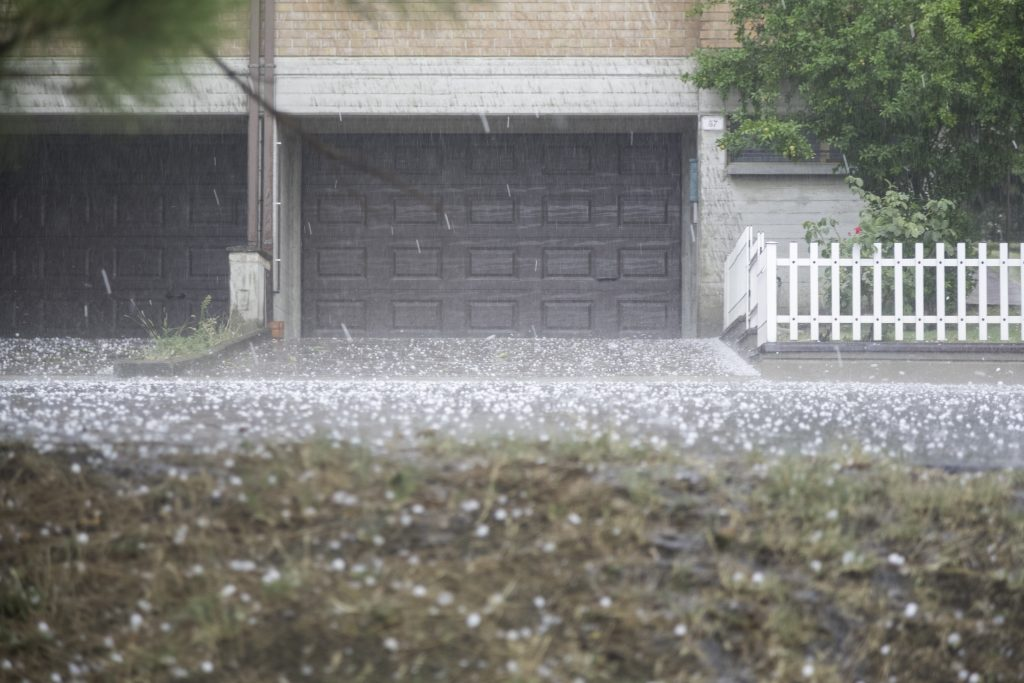 garage door hail damage san antonio hail repair garage door service