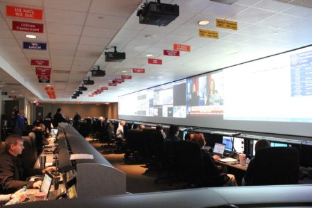 City of Houston Emergency Operations Center (Photo:Michael Walter/City of Houston)