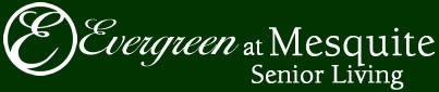 Evergreen at Mesquite Senior Living Logo
