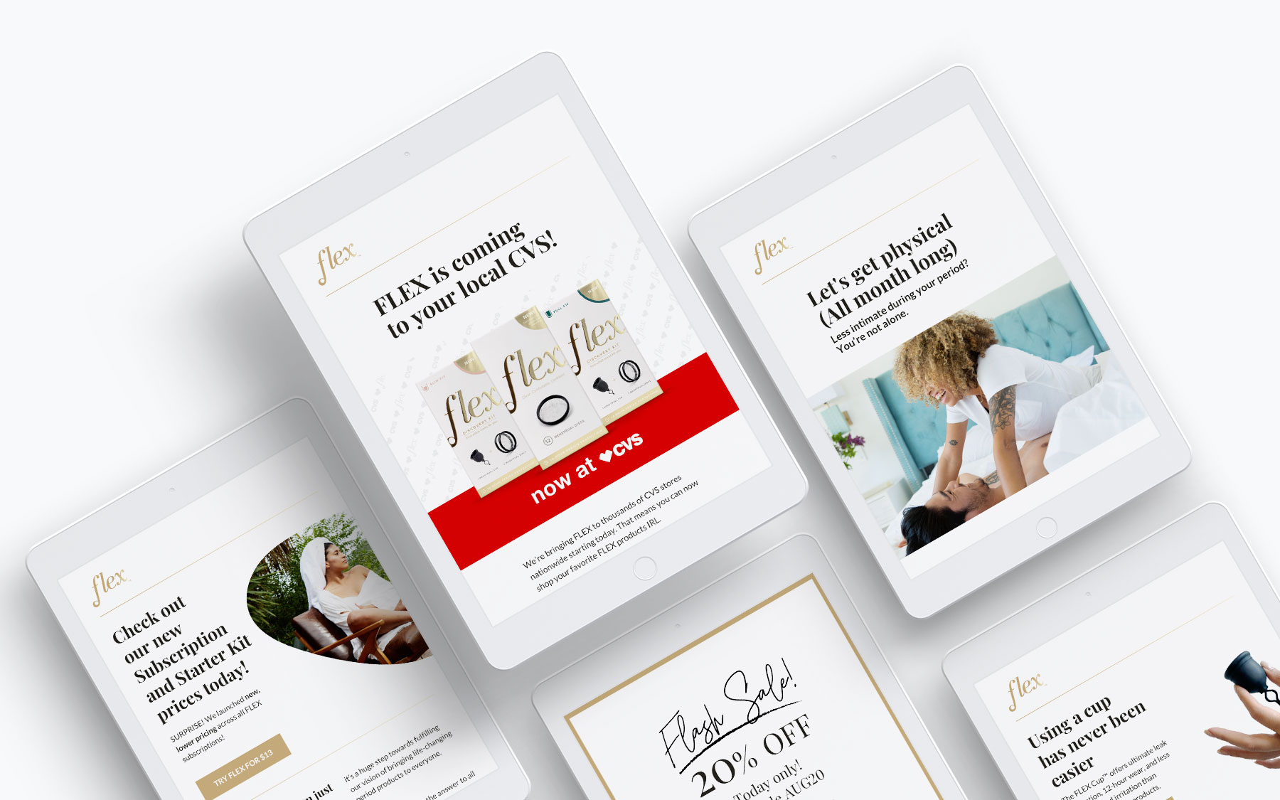 Email Rebrand Examples
