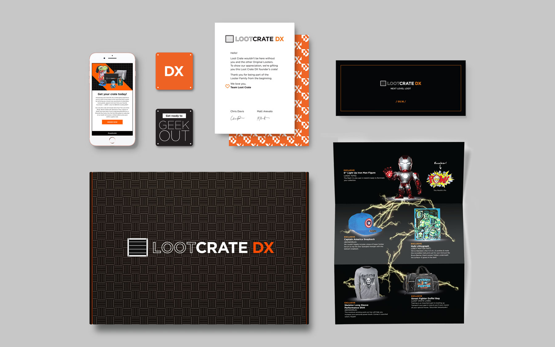 LootCrate DX Debut Box