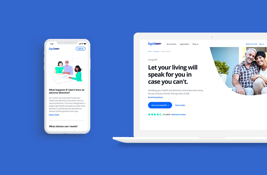 Living Will overview (Responsive))