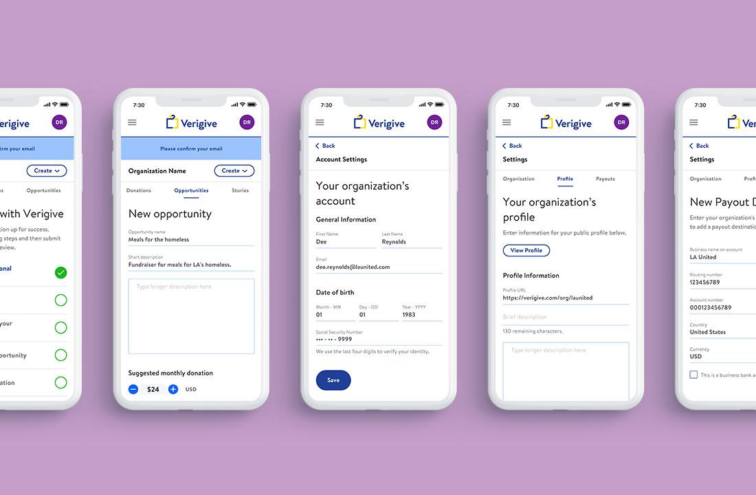 Organization portal (Mobile)
