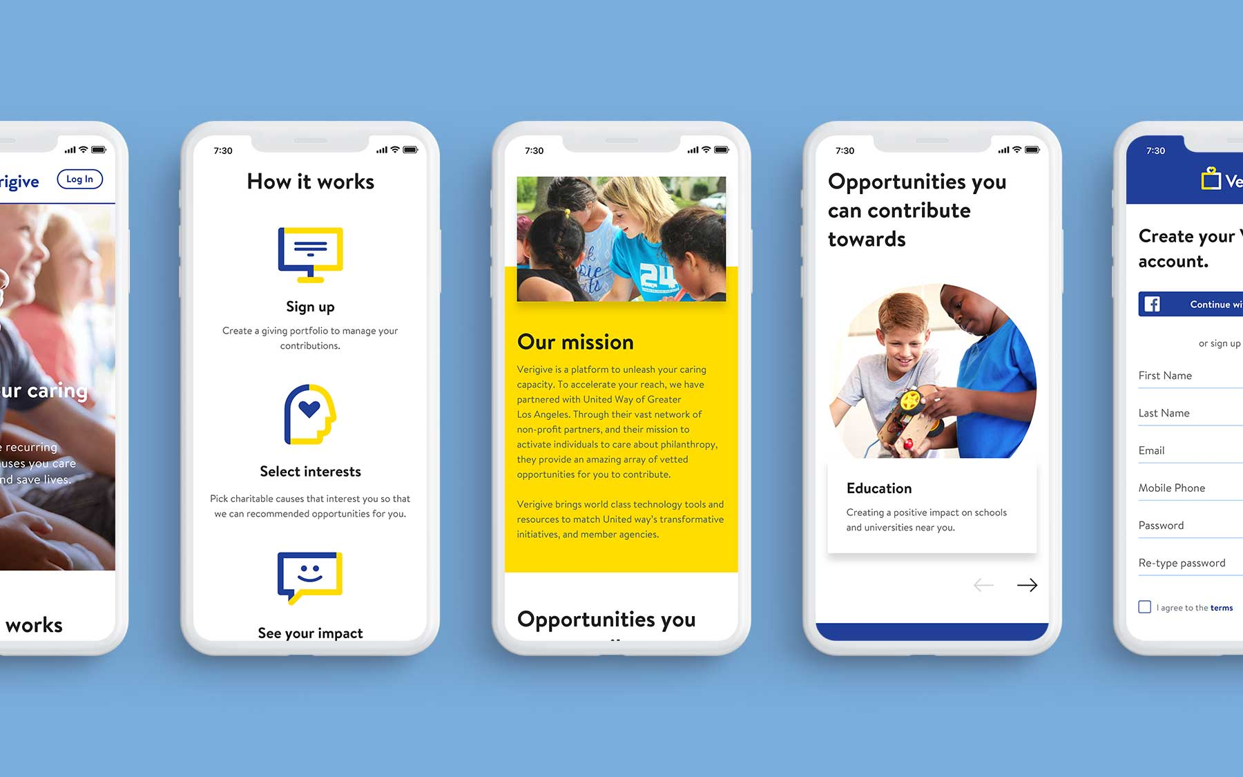 Final homepage (Mobile)