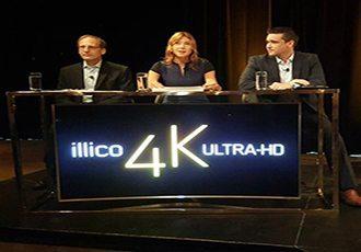 Videotron 4k set top UHD TV-vod