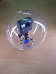 360Bubble for GoPro Fusion. Underwater Housing to 10Meters