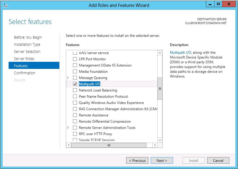 Microsoft Windows Server 2012 - Multipath IO Configuration - 08