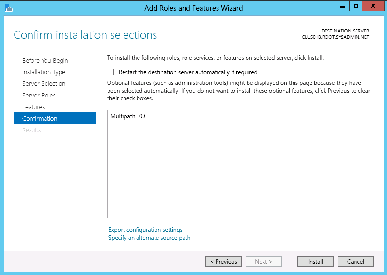 Microsoft Windows Server 2012 - Multipath IO Configuration - 09