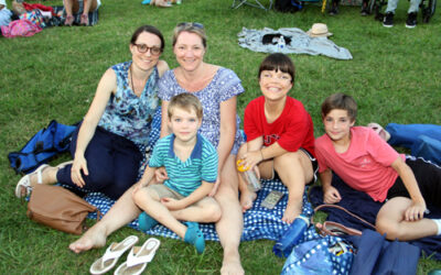 Charlotte Symphony at Lake Park in Pineville
