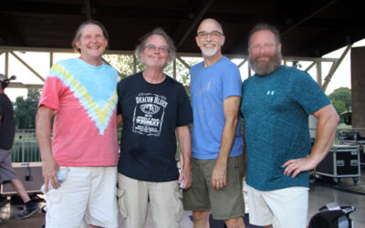 Coconut Groove Band Rocks Pineville's Lake Park
