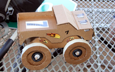 Steam Program Welcomes Students to The Dirt Track