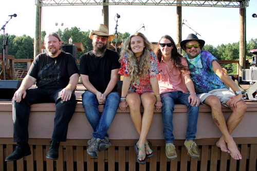 Abby Bryant and the Echoes Rock the White Water River Jam